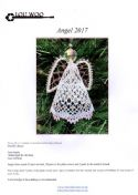 Angel 2017 Torchon Bobbin Lace Pattern